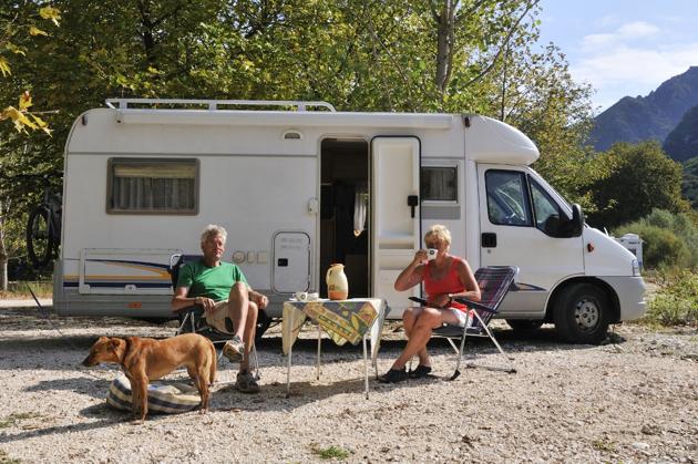 Où voyager en camping-car avec votre animal de compagnie ?